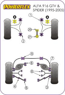 BMW E9X Suspension Diagram