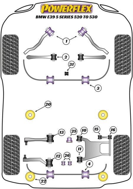 29 Bmw E39 Rear Suspension Diagram