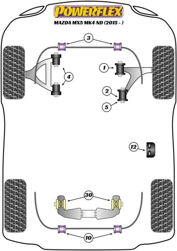 Mazda Miata MX-5 MK4 ND (2016+) Replacement Suspension